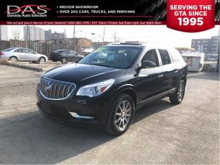 Used 2014 Buick Enclave PREMIUM  NAVIGATION/PANORAMIC SUNROOF/LEATHER for sale in North York, ON