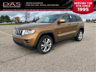 Used 2011 Jeep Grand Cherokee 70 ANNIVERSARY PANRAMIC ROOF/LEATHER for sale in North York, ON