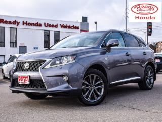 Used 2015 Lexus RX 350 F Sport - Navigation - SunRoof - Rear Camera for sale in Mississauga, ON