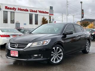 Used 2015 Honda Accord Sedan Sport  - Rear Camera - Heated Seats for sale in Mississauga, ON