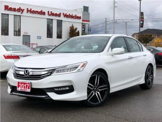 Used 2017 Honda Accord Sedan Touring - Navigation - Leather - Sunroof for sale in Mississauga, ON
