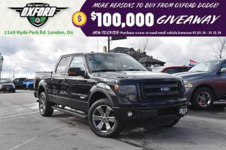 Used 2013 Ford F-150 FX4 - One Owner, Well Equipped, GPS, Vented Seats for sale in London, ON