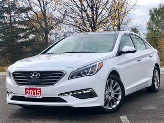 Used 2015 Hyundai Sonata Limited|NAVI|PANO ROOF|LEATHER|BACK UP CAM| for sale in Mississauga, ON