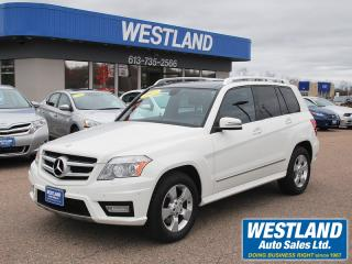 Used 2011 Mercedes-Benz GLK350 4-Matic for sale in Pembroke, ON