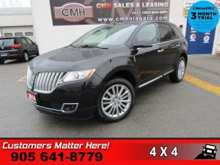 Used 2014 Lincoln MKX AWD NAV PANO-ROOF CS CAM PWR-GATE THX-AUDIO MEM 20 -AL for sale in St. Catharines, ON
