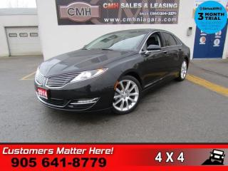 Used 2014 Lincoln MKZ AWD V6 NAV ROOF CAM MEM for sale in St. Catharines, ON