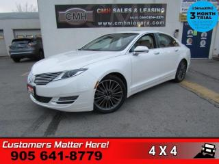 Used 2015 Lincoln MKZ Reserve  AWD TECHNOLOGY NAV  ROOF ADAP-CC SELF-PARK for sale in St. Catharines, ON