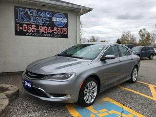 Used 2016 Chrysler 200 Limited for sale in Essex, ON