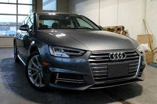 Used 2018 Audi A4 2.0T Progressiv + Park Cam | Foot Activated Trunk for sale in Whitby, ON