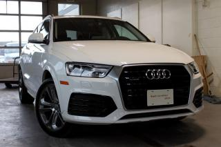 Used 2018 Audi Q3 2.0T Progressiv + Power Tailgate | Pano Sunroof for sale in Whitby, ON