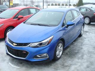 Used 2017 Chevrolet Cruze Hatch Lt for sale in Thetford Mines, QC