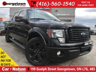 Used 2012 Ford F-150 FX2 | LEATHER | CREW | RED STITCH | BLACKED OUT for sale in Georgetown, ON