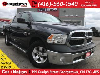 Used 2014 RAM 1500 ST | CREW CAB | 5.7L V8 | TOUCH SCREEN | for sale in Georgetown, ON