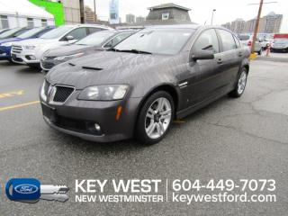 Used 2009 Pontiac G8 SEDAN for sale in New Westminster, BC