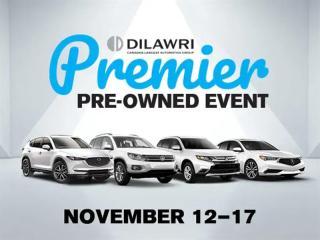 Used 2016 Acura ILX Premium Nov 12-17 Dilawri Premier Event for sale in Markham, ON