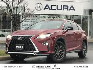 Used 2017 Lexus RX 350 8A - F Sport Series 2 | Nov 12-17 Event for sale in Markham, ON