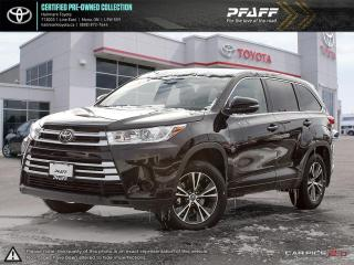 Used 2017 Toyota Highlander LE AWD ONE OWNER, BOUGHT AND SERVICED HERE! for sale in Orangeville, ON