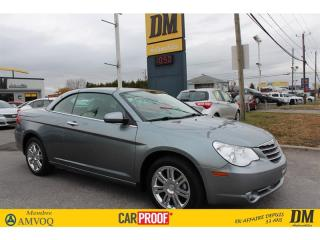 Used 2008 Chrysler Sebring Ltd Convertible Nav for sale in Salaberry-de-Valleyfield, QC