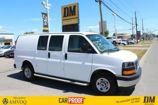 Used 2017 GMC Savana Cargo 135 Wb A/c for sale in Salaberry-de-Valleyfield, QC