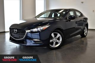 Used 2017 Mazda MAZDA3 GX + GR COMMODITE + MANUEL + CAM RECUL for sale in St-Jean-Sur-Richelieu, QC