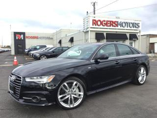 Used 2016 Audi A6 TDI - S-LINE - NAVI - TECHNIK for sale in Oakville, ON
