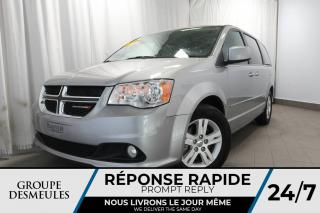 Used 2017 Dodge Grand Caravan CREW PLUS+ÉCRAN 6.5 +CAMERA for sale in Laval, QC