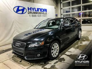 Used 2012 Audi A4 PREMIUM WAGON + GARANTIE INCLUSE  + QUAT for sale in Drummondville, QC