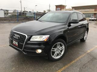 Used 2016 Audi Q5 S-LINE 2.0T QUATTRO PANO ROOF for sale in BRAMPTON, ON