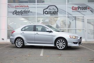 Used 2010 Mitsubishi Lancer GTS SPORTBACK ***BLUETOOTH*** for sale in Québec, QC