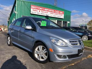 Used 2007 Mercedes-Benz B-Class Turbo for sale in Burlington, ON