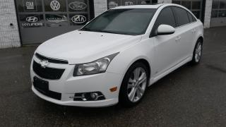 Used 2012 Chevrolet Cruze LT Turbo+ w/1SB for sale in Guelph, ON