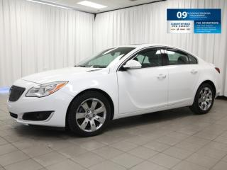 Used 2016 Buick Regal ALL WHEEL DRIVE!!  Leather, Sunroof, Bluetooth and 0.9% Financing!! for sale in Dartmouth, NS