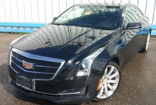Used 2015 Cadillac ATS 2.0T Coupe *6-SPEED MANUAL* for sale in Kitchener, ON