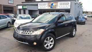 Used 2007 Nissan Murano SE LEATHER, P-MOON, BACKUP CAM for sale in Etobicoke, ON
