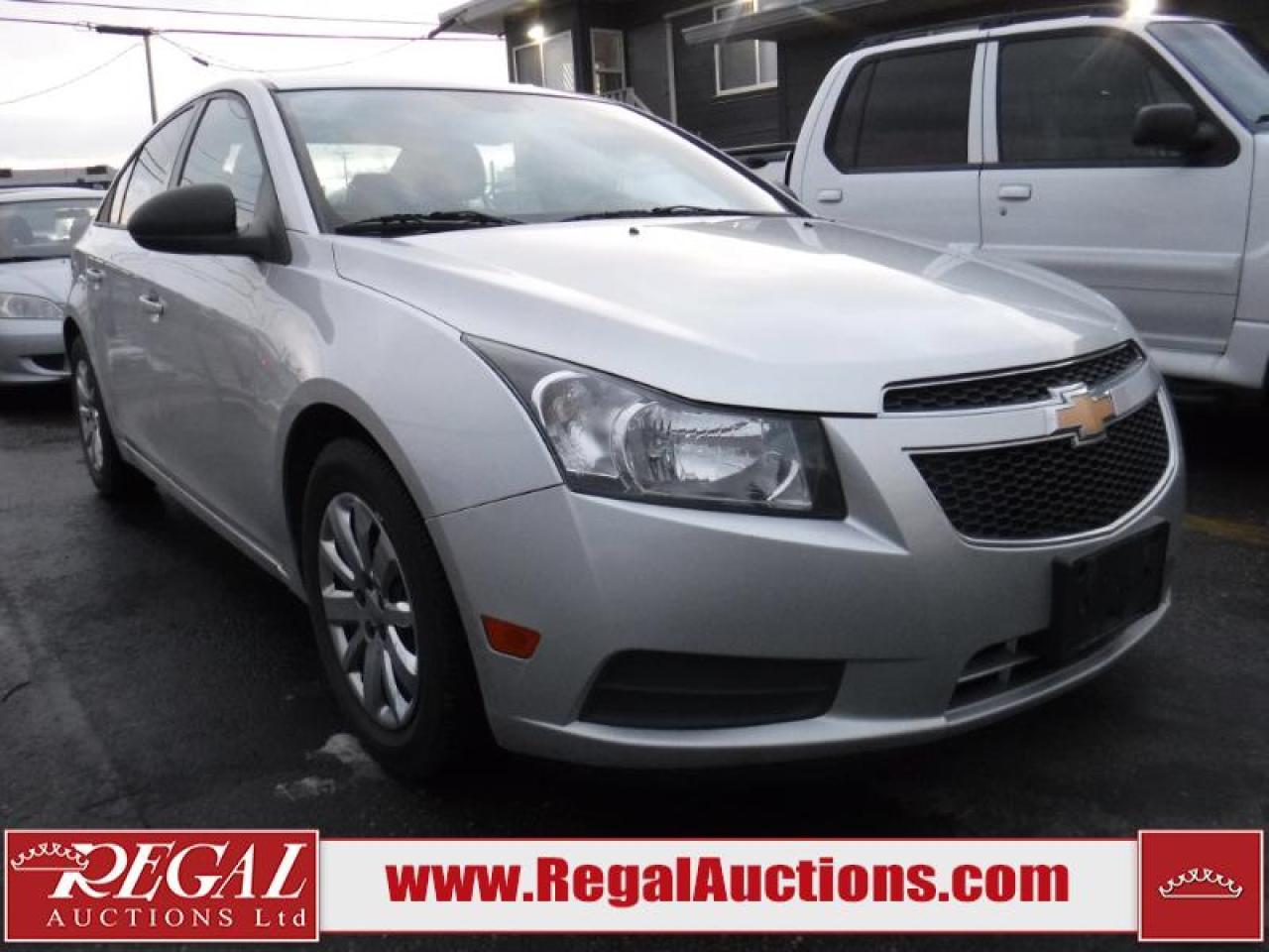 Photo of Silver 2013 Chevrolet Cruze