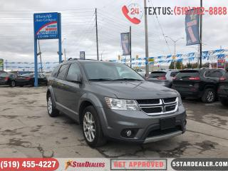 Used 2013 Dodge Journey Crew | 7PASS | DVD | CAM | HEATED SEATS for sale in London, ON