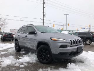 Used 2018 Jeep Cherokee Sport 4X4 LOW KMS!!**Cold Weather Group** for sale in Mississauga, ON
