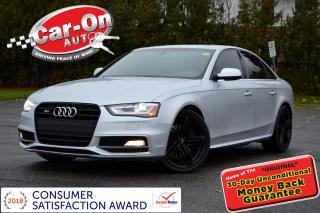 Used 2014 Audi S4 3.0 V6 SUPERCHARGED 333 HP AWD LOADED for sale in Ottawa, ON
