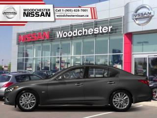 New 2019 Infiniti Q50 3.0t LUXE AWD  - Navigation for sale in Mississauga, ON