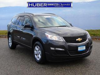 Used 2016 Chevrolet Traverse AWD/ Bluetooth/ Backup Camera for sale in Penticton, BC