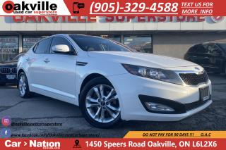 Used 2012 Kia Optima EX+ | B/U CAM | HTD SEATS | LEATHER | PANO ROOF for sale in Oakville, ON