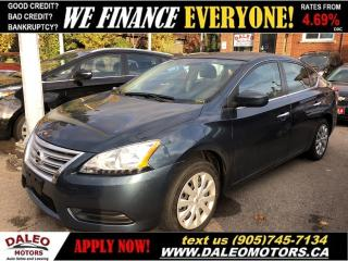 Used 2014 Nissan Sentra 1.8 S | BLUETOOTH |LOW KMS for sale in Hamilton, ON