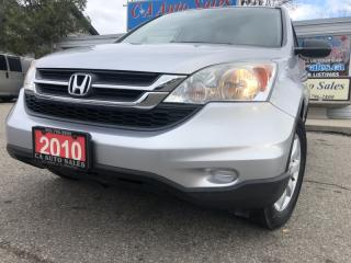 Used 2010 Honda CR-V 2WD 5dr LX alloy wheels financing Available for sale in Brampton, ON