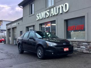 Used 2010 Ford Focus 4dr Sdn SES for sale in Hamilton, ON
