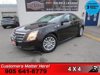 Used 2011 Cadillac CTS 3.0  AWD BLUETOOTH LEATHER PANO-ROOF HEATED SEATS for sale in St. Catharines, ON