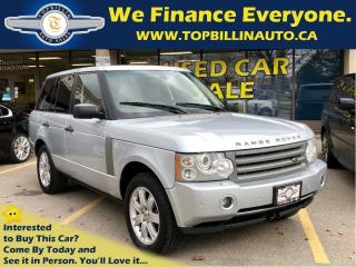 Used 2007 Land Rover Range Rover HSE Extra Clean, Clean Carproof for sale in Vaughan, ON