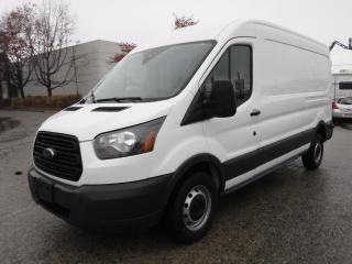 Used 2015 Ford TRANSIT-250 Power Stroke Diesel Cargo Van Medium Roof with Bulkhead Divider 148-in. Wheelbase for sale in Burnaby, BC