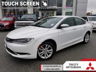 Used 2016 Chrysler 200 Limited  - UConnect -  Power Seat for sale in Port Coquitlam, BC