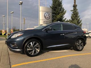 Used 2017 Nissan Murano Platinum AWD CVT for sale in Surrey, BC