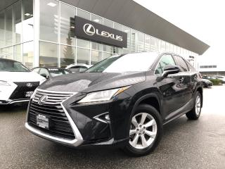 Used 2017 Lexus RX 350 8A JAN Special, Certified, LOW KM, Local, NO Accid for sale in North Vancouver, BC